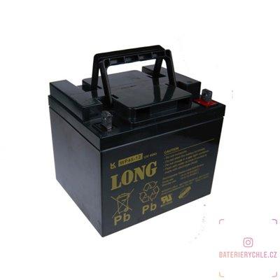 Long 12V 45Ah olověný akumulátor F4 (WP45-12)