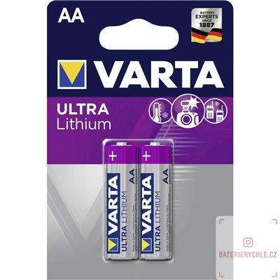 Baterie Varta Professional Lithium AA 2ks