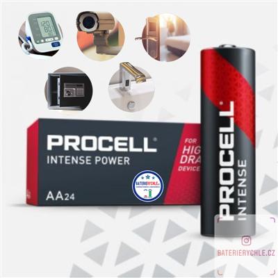 Baterie Duracell Procell Intense Industrial LR6 AA 3112mAh 10ks, box
