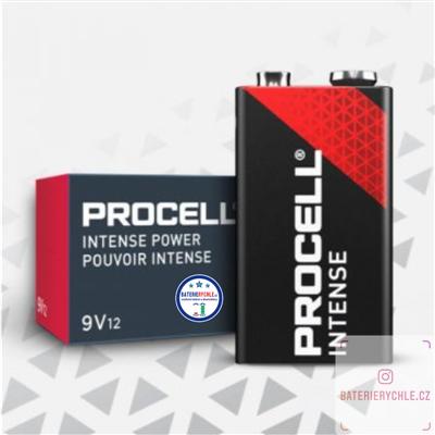 Baterie Duracell Procell Intense Industrial 6LR61 9V 628mAh 10ks, box