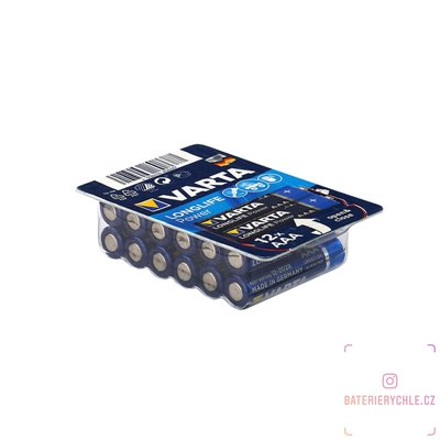 Baterie Varta LongLife Power AAA 12ks, box
