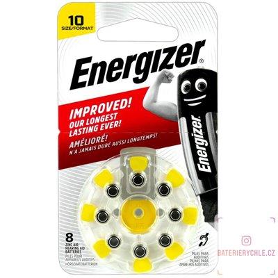 Baterie do naslouchadel Energizer 10 (PR70) 8ks, blistr